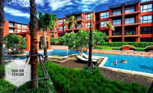 Huahin Accommodation in the city near the beach