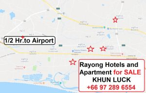 Hotel Pattaya for sale,Hotel Rayong for sale,