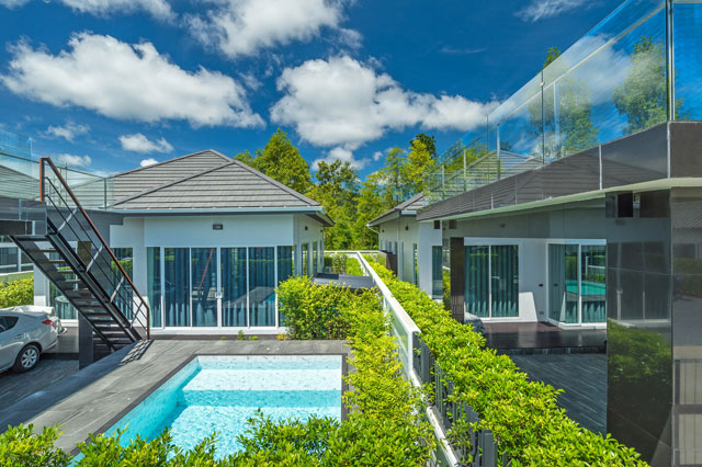Brand new private pool villa for rent Aonang