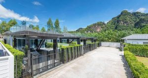 The Cheapest and  luxury  pool villa  for rent Aonang
