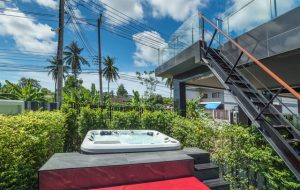 The prime location with private pool and jacuzzi villa in Ao Nang,
