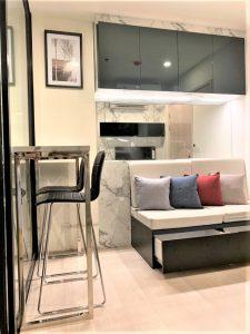 Bangkok CBD Condo For Rent Life Asoke Near MRT Phetchaburi