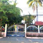ขายบ้านเดี๋ยวเมืองอุบล บ้านเดี๋ยว 2 ชั้น 87 ตรว 5 ห้องนอน  3 ห้องน้ำ  2 ห้องครัว ต.แจระแม อ.เมือง จ.อุบลราชธานี