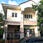บ้านเดี่ยวมือสองราคาถูกกู้ได้สูง ม.บุรีรมย์ เทพารักษ์  สมุทรปราการ กม. 8 บ้านเดี่ยว 2 ชั้น 36 ตร.ว. 3 ห้องนอน 2 ห้องน้ำ  148 ตารางเมตร  ขายถูก เพียง 2.7 ล้าน