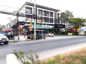 ตึกแถวอาคารพาณิชย์ติดตลาดไทย