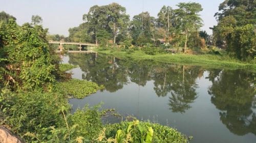 ขายที่ดินใกล้ที่ว่าการอำเภอเมืองนครนายก-ติดแม่น้ำ เหมาะสร้างบ้านพักตากอากาศริมแม่น้ำ