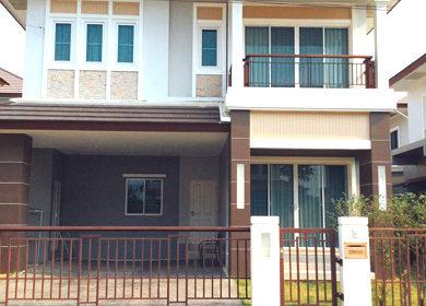 ขายบ้านเดี่ยวลัดดาวิลล์4กู้ได้เต็มตามเครดิตผู้กู้ กู้ได้สูง โครงการบ้านบนถนนบ้านกล้วย-ไทรน้อย