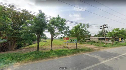 ขายที่ดินเชียงรายติดถนนพหลโยธิน แม่สาย วิวดอยขุนน้ำนางนอน ขายถูก
