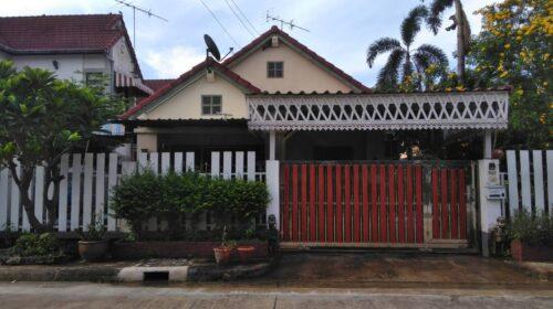 ขายบ้านเดี่ยวเนื้อที่ 100 ตรว. ราคา 3.7 ล้าน หมู่บ้านสราญธร คลองสี่ธัญบุรี
